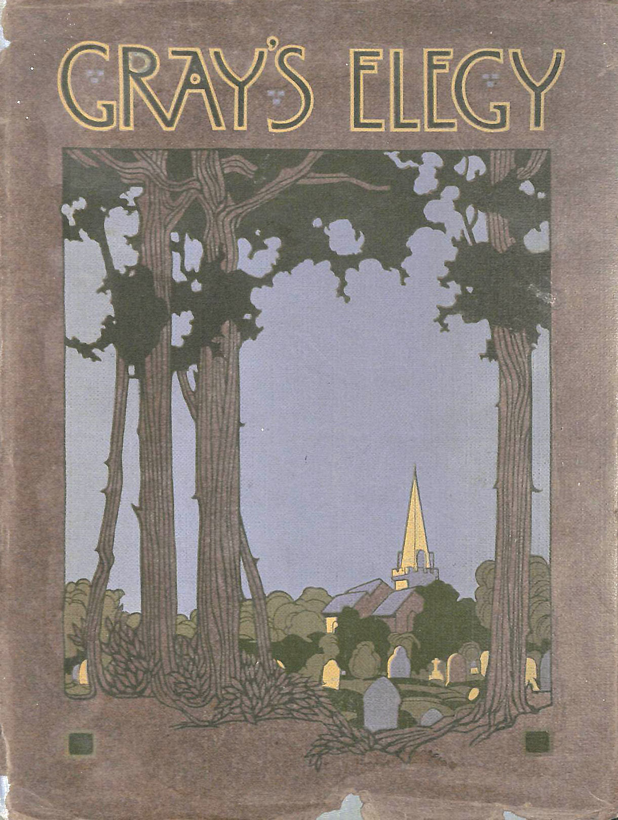 Image for An Elegy Written In A County Churchyard. Illustrations By G.F. Nicholls.