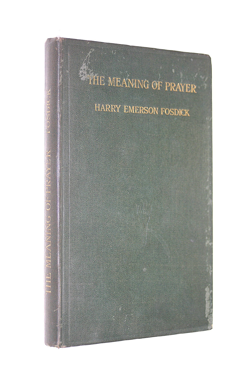 Image for The Meaning Of Prayer