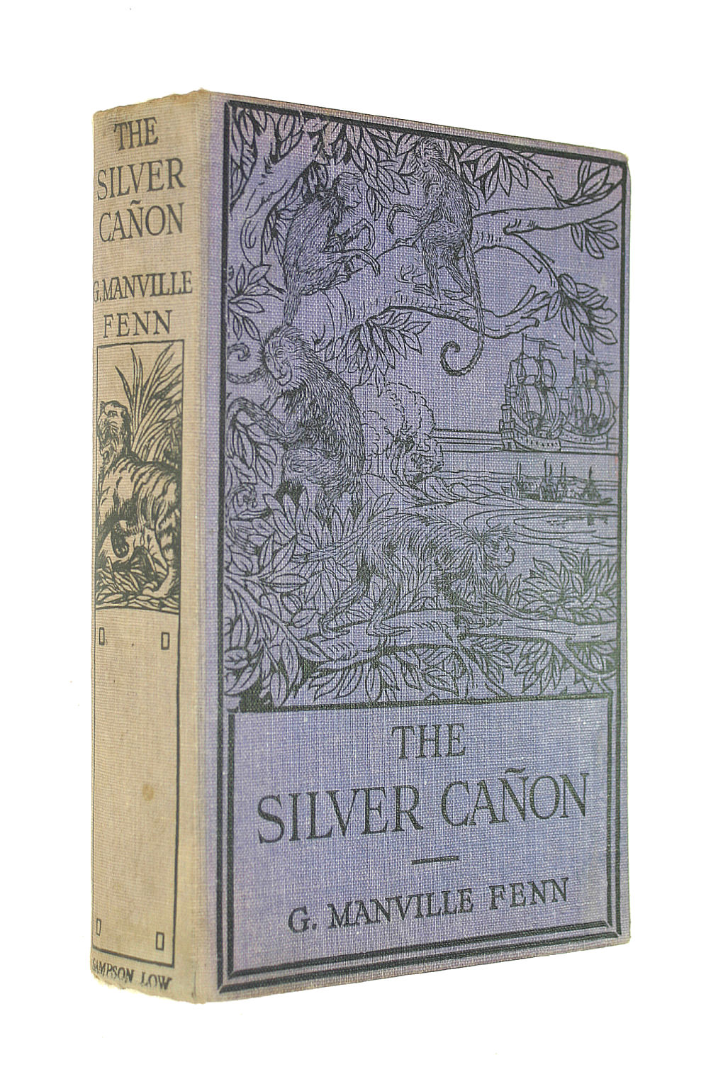 Image for The Silver Canon, A Tale Of The Western Plains