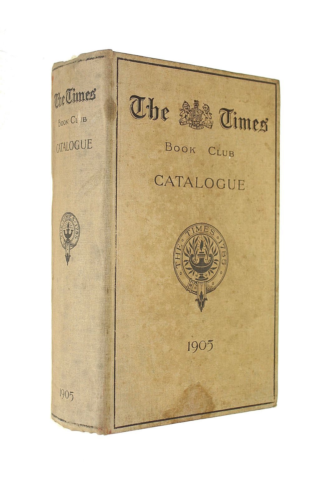 Image for The Times Book Club Catalogue