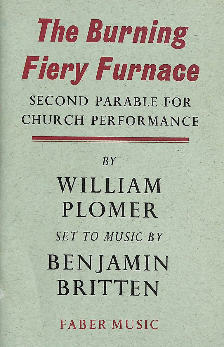 Image for The Burning Fiery Furnace: Second Parable For Church Performance