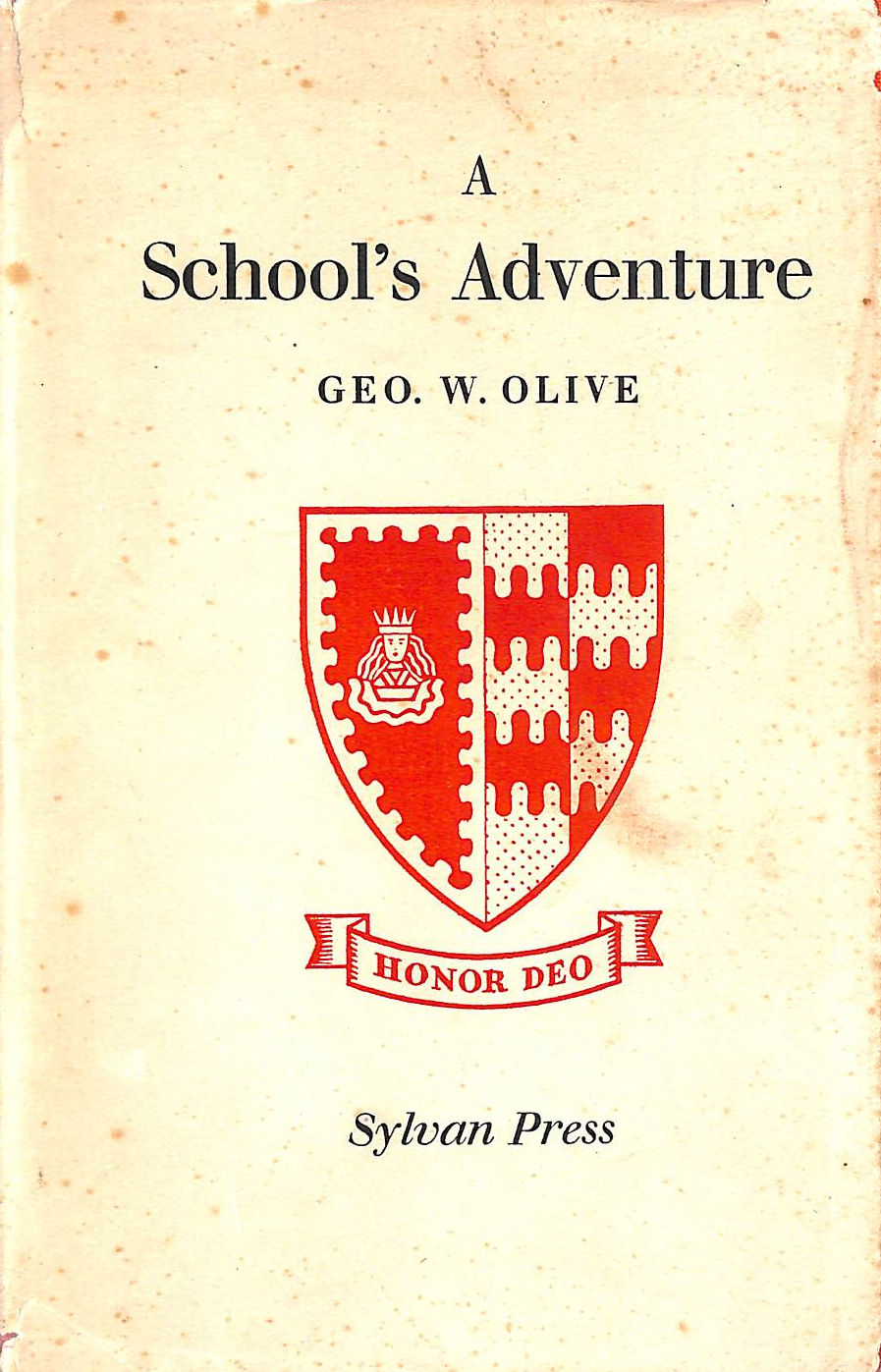 Image for A School's Adventure.