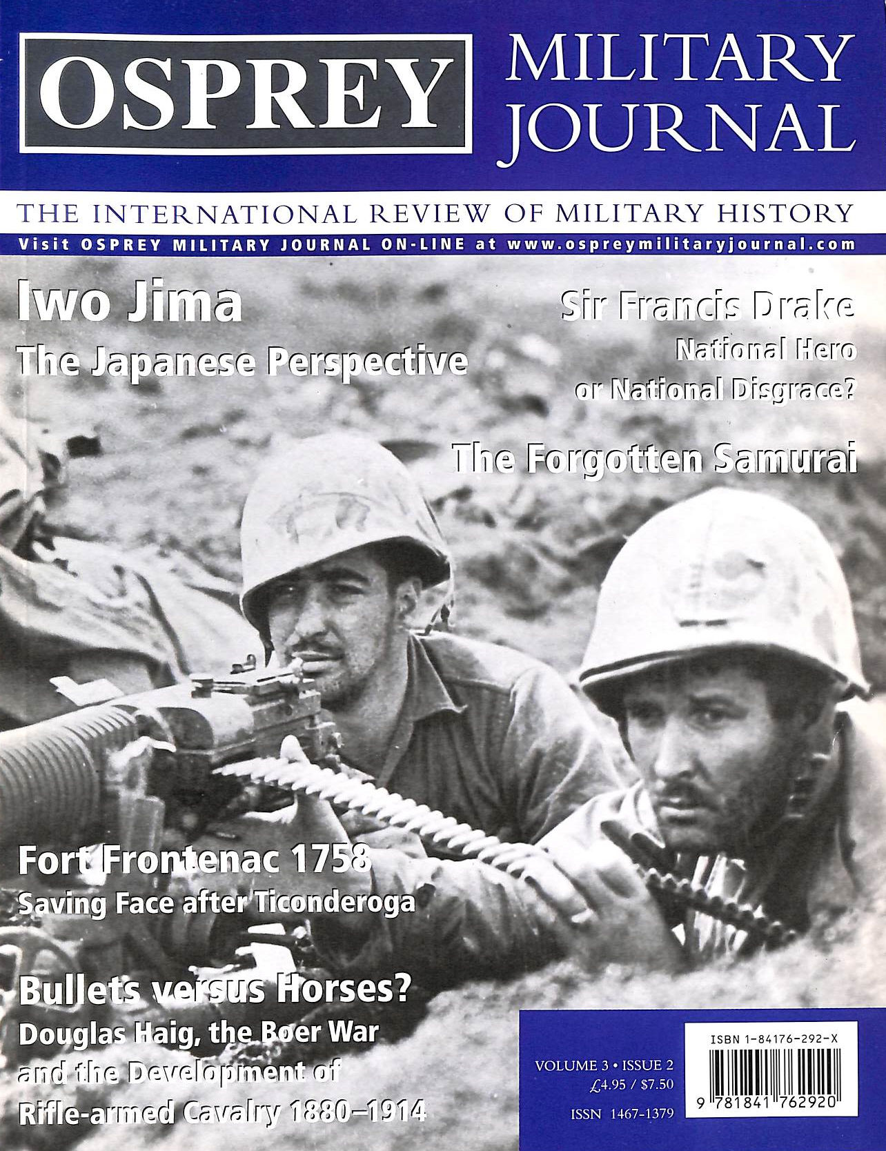 Image for Osprey Military Journal: Issue 2: Volume 3