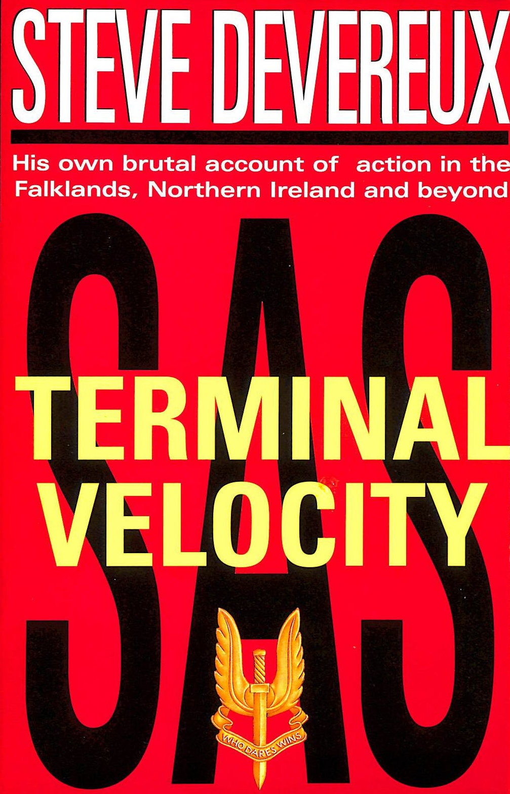 Image for Terminal Velocity: His True Account Of Front-Line Action In The Falklands War And Beyond