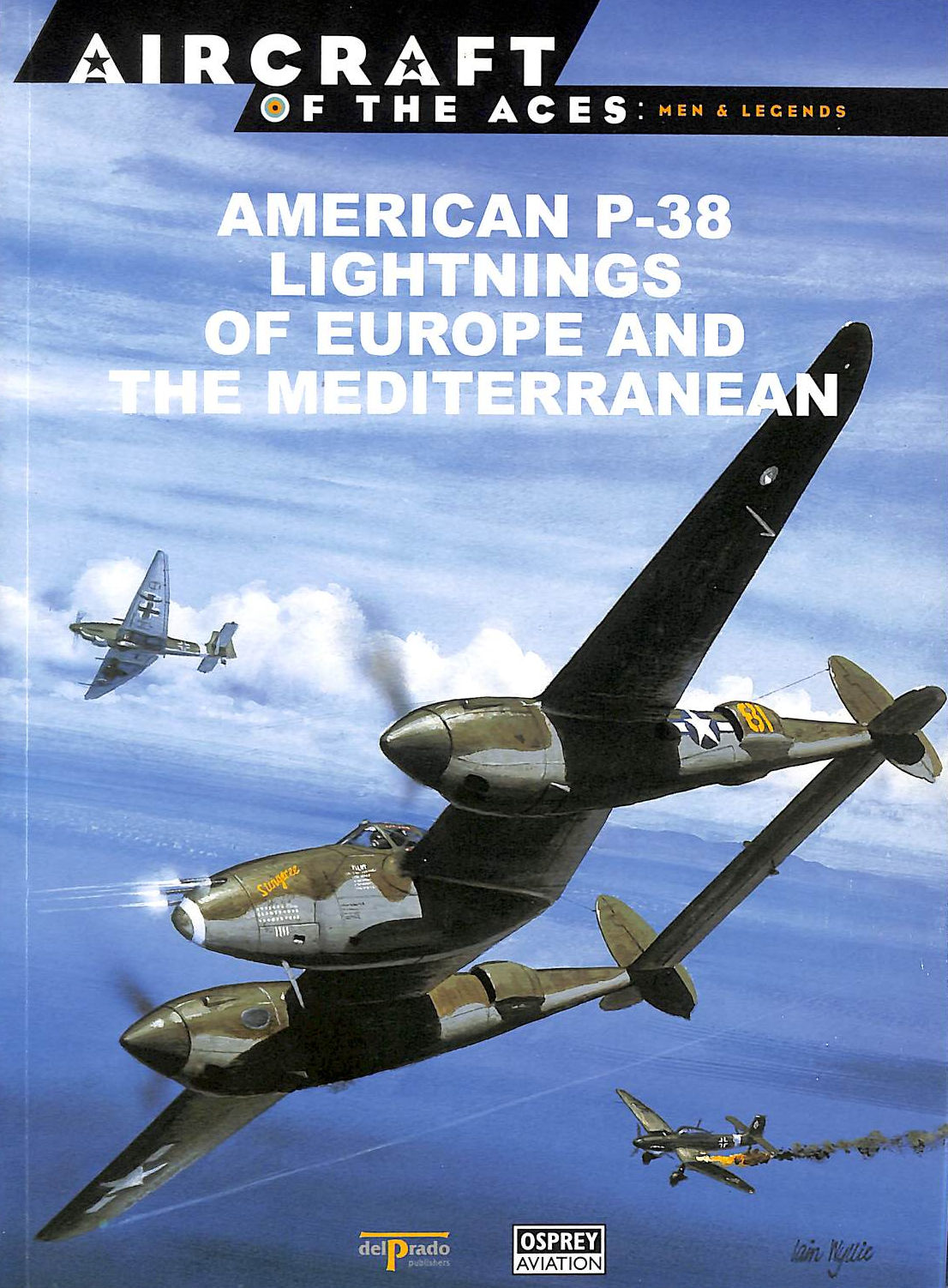 Image for American P-38 Lightnings Of Europe And The Mediterranean [Aircraft Of The Aces: Men & Legends: 9]