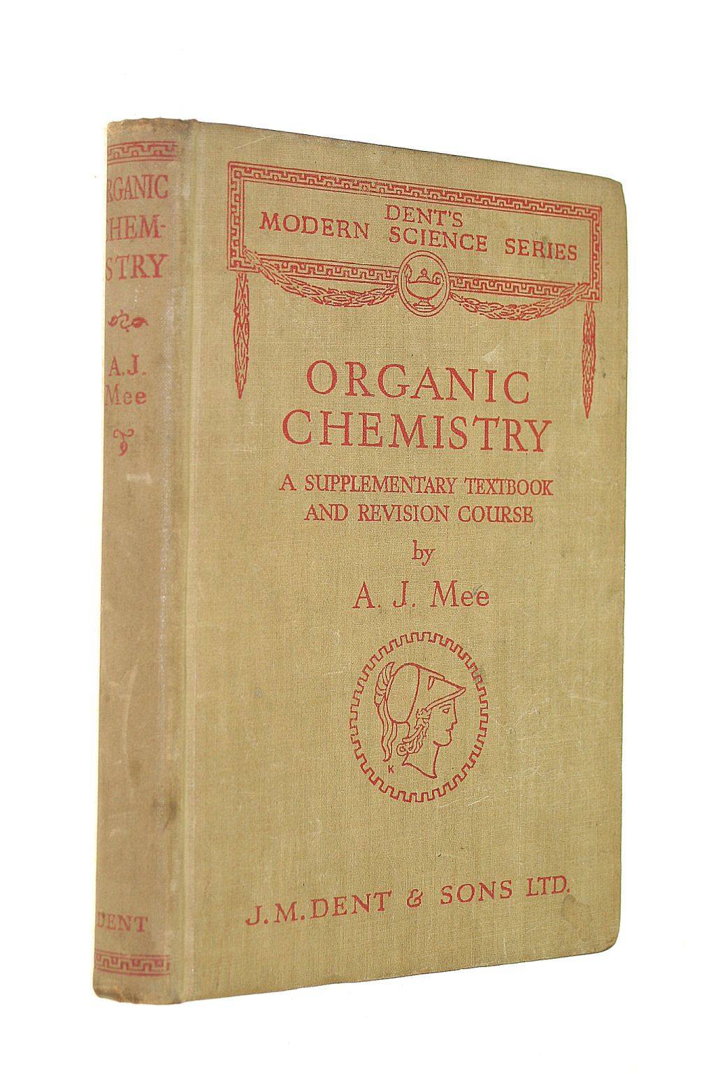 Image for Organic Chemistry (Dents Modern Science Series)