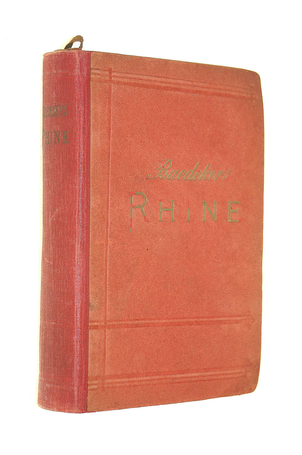 Image for The Rhine, Including The Black Forest & The Vosges; Handbook For Travellers 1911 [Hardcover]