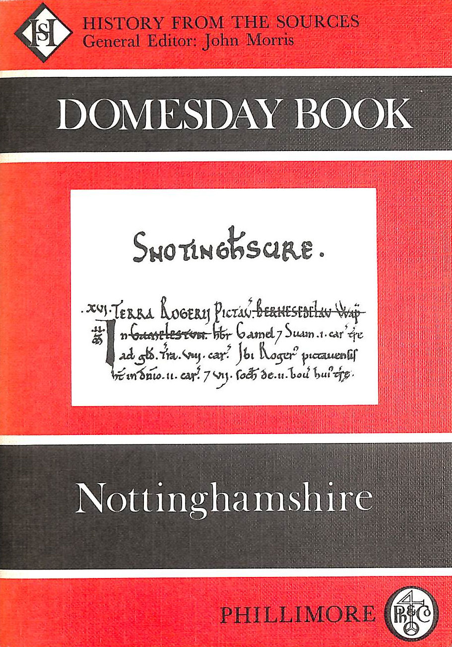 Image for The Domesday Book: Nottinghamshire (Domesday Books (Phillimore))