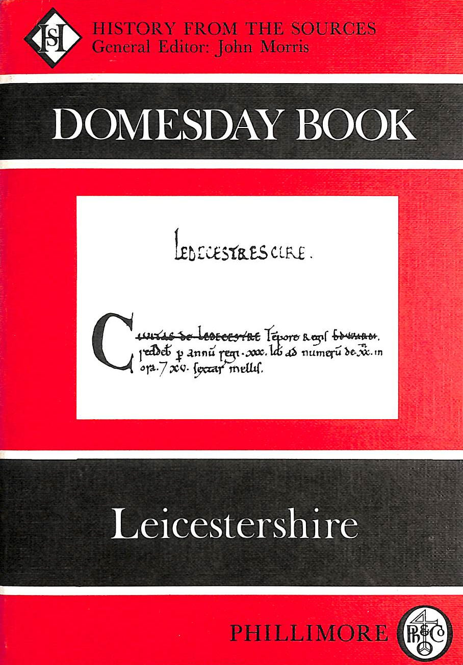 Image for The Domesday Book: Leicestershire (Domesday Books (Phillimore))