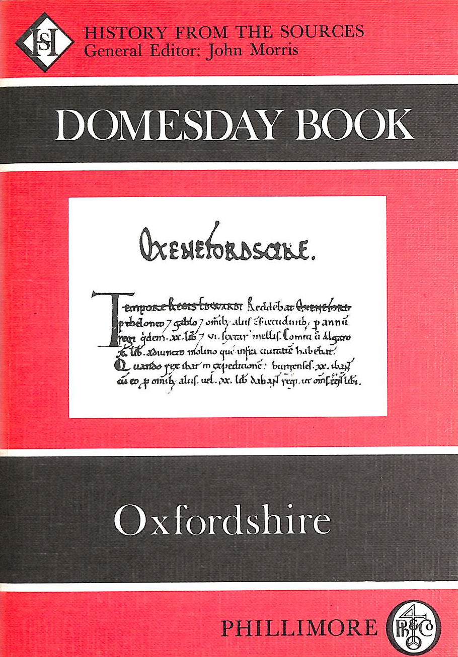 Image for Domesday Book Oxfordshire (Domesday Books (Phillimore))