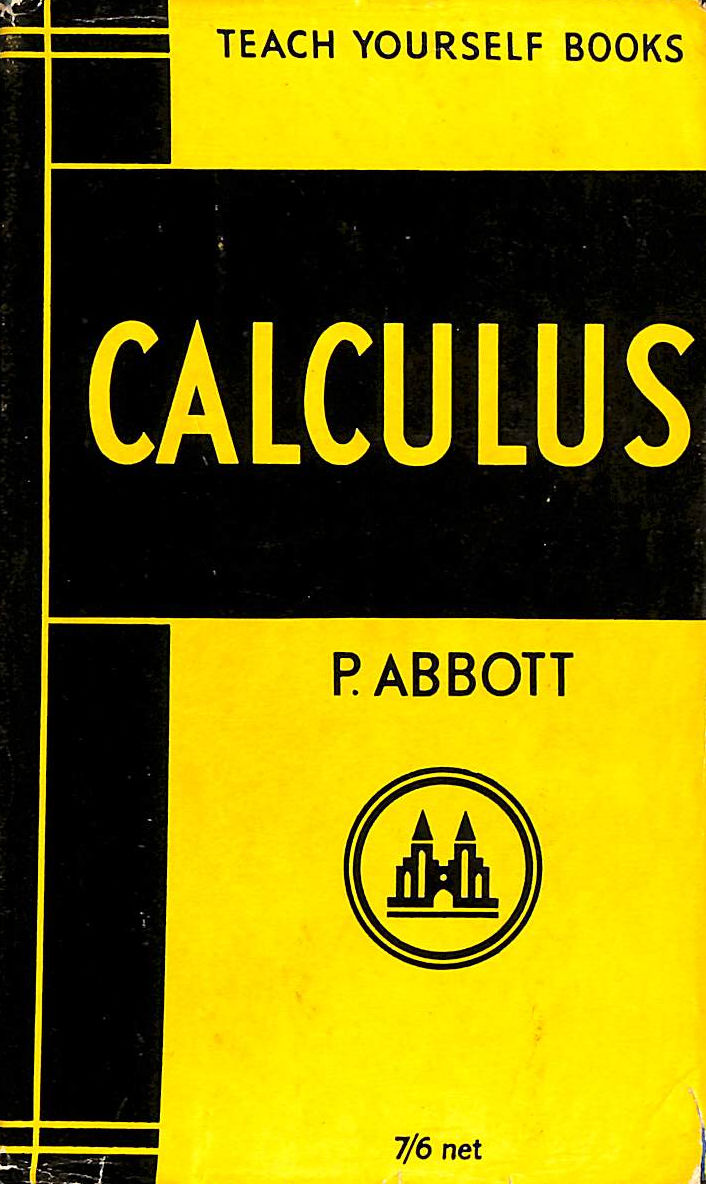 Image for Teach Yourself Calculus