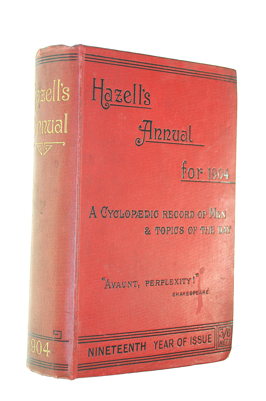 Image for Hazell's Annual for 1904