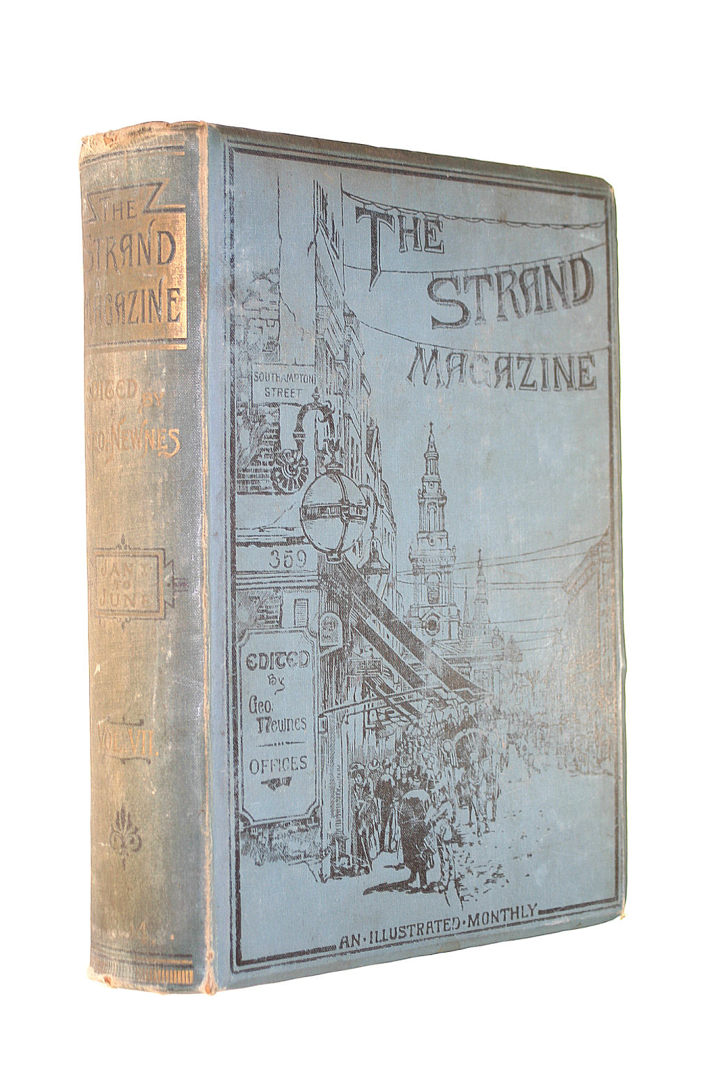 Image for The Strand Magazine Vol.7 January - June 1894