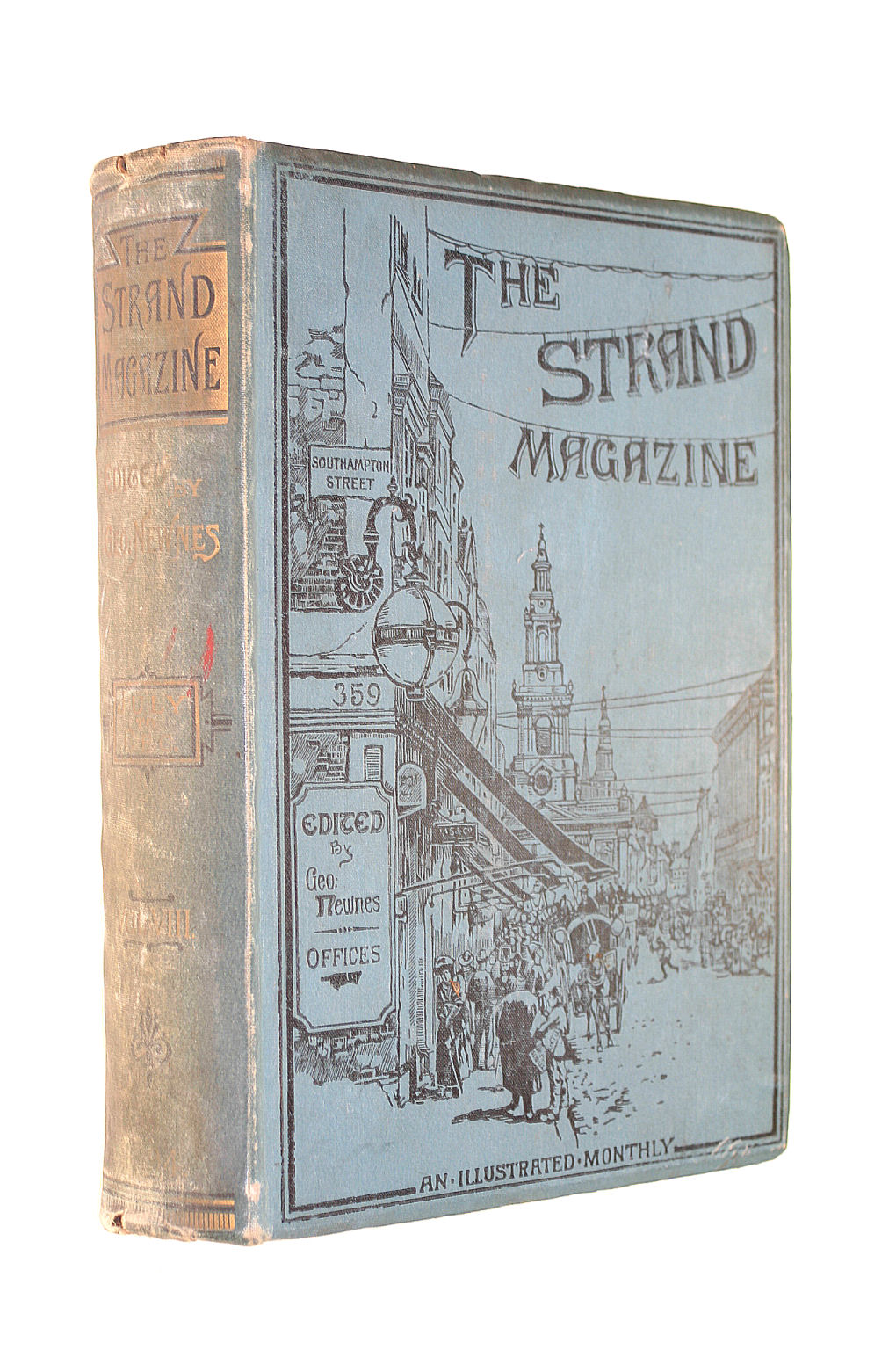 Image for The Strand Magazine Vol. VIII July to December 1894