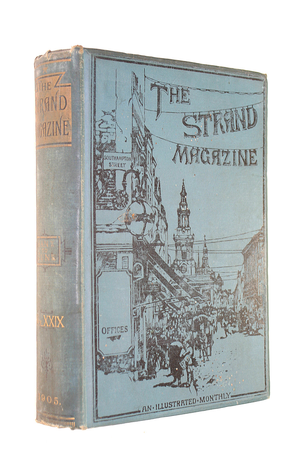 Image for The Strand Magazine : An Illustrated Monthly - Volume 29 January To June 1905