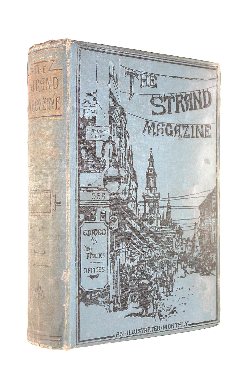 Image for The Strand Magazine. An Illustrated Monthly. Vol. Xxx. July To December, 1905.
