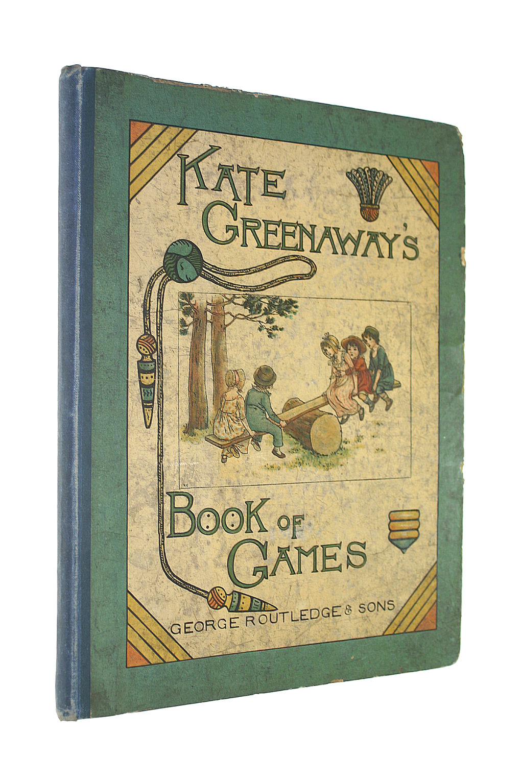 Image for Kate Greenaway's Book Of Games With Twenty-Four Full-Page Plates Engraved And Printed In Colours By Edmund Evans
