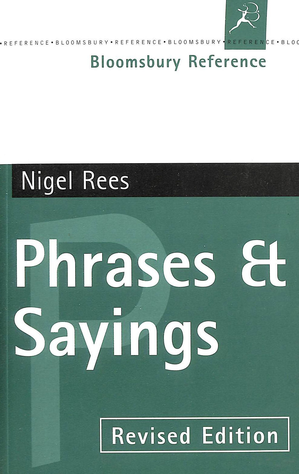Image for Phrases And Sayings (Bloomsbury Reference)