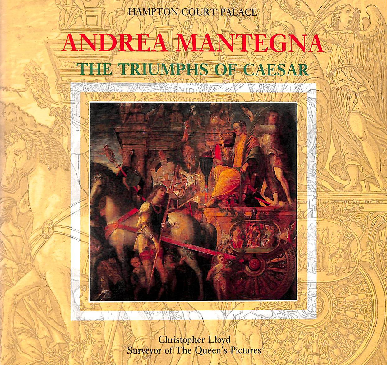 Image for Andrea Mantegna:Triumphs Of Caesar