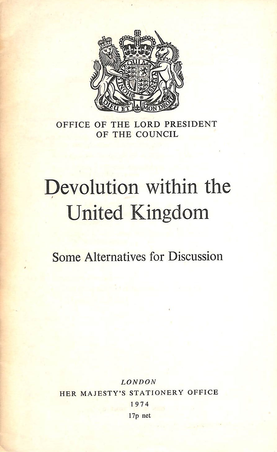 Image for Devolution Within The United Kingdom