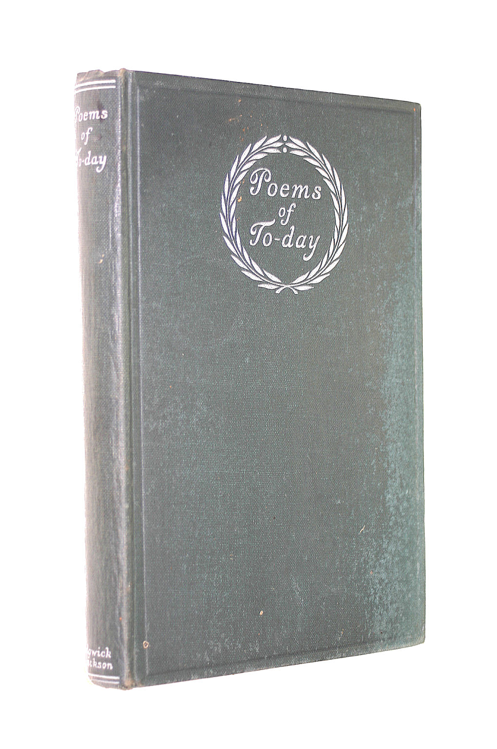 Image for Poems Of To-Day An Anthology