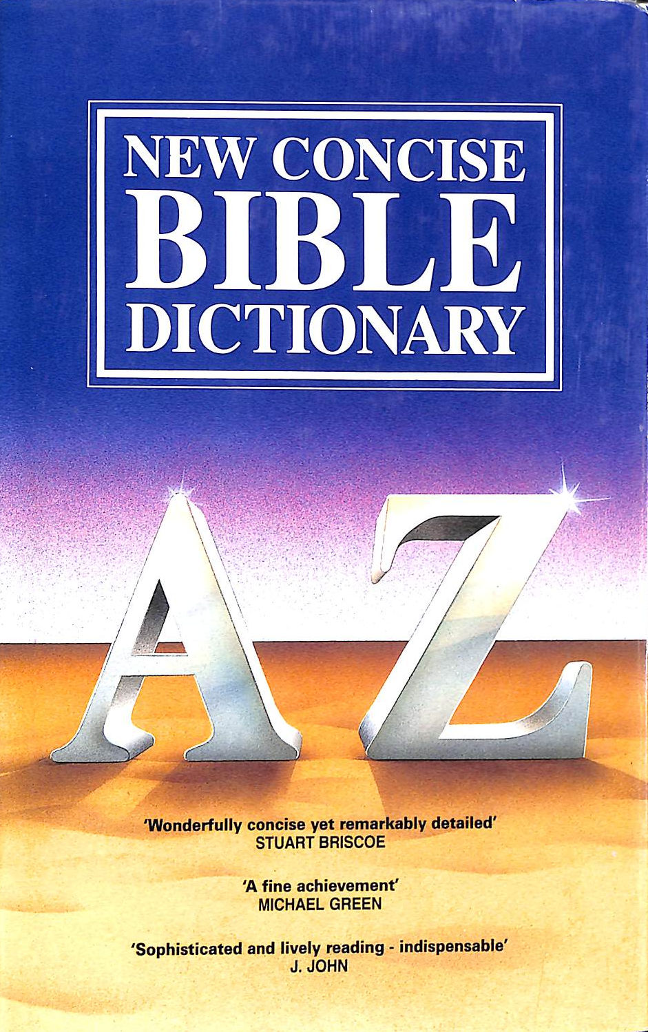 Image for Concise Bible Dictionary