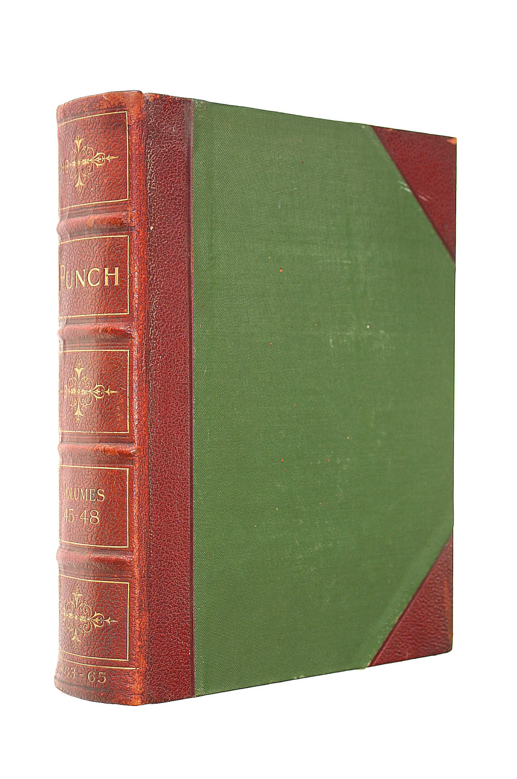 Image for Punch, Or The London Charivari, Volumes 45-48, July 1863 To June 1865, [In 1 Volume]