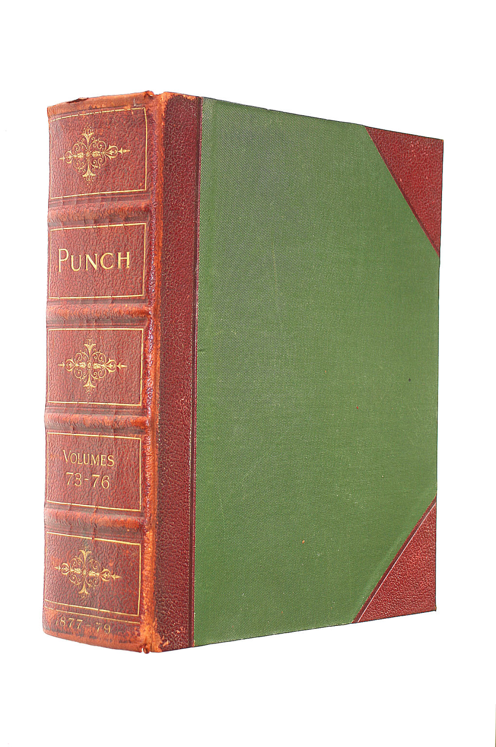 Image for Punch Volumes 73-76 (1877-79 By Various