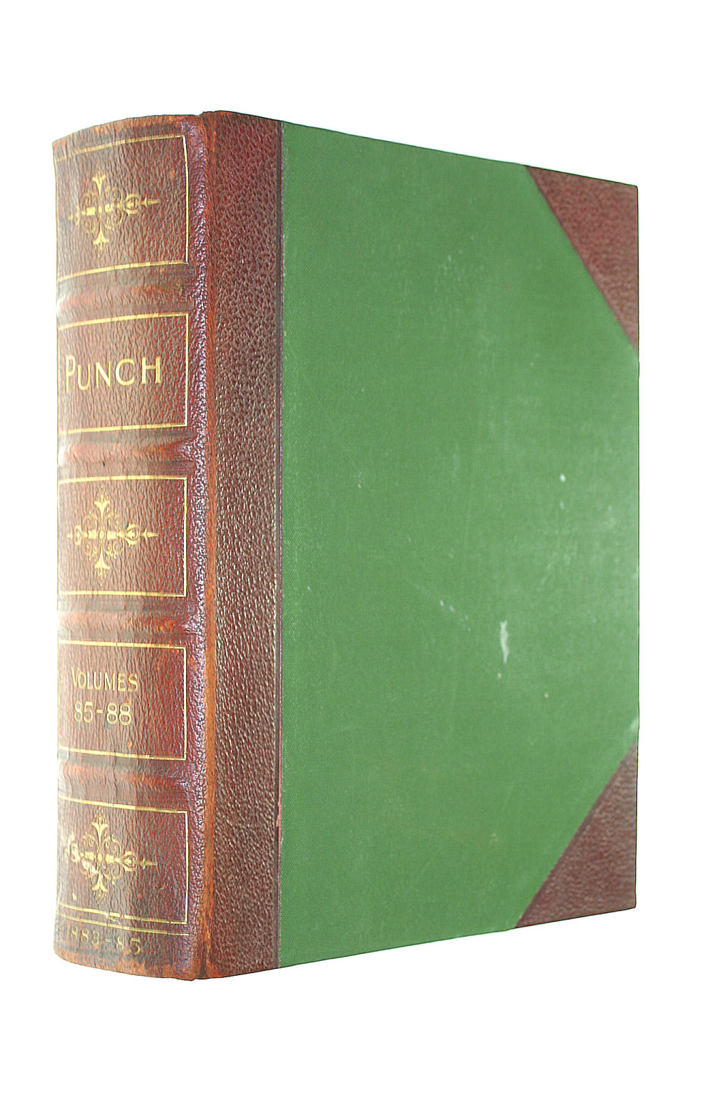 Image for Punch, Or The London Charivari. July 1883 - June 1885. Volumes 85-88. Half-Leather Cover