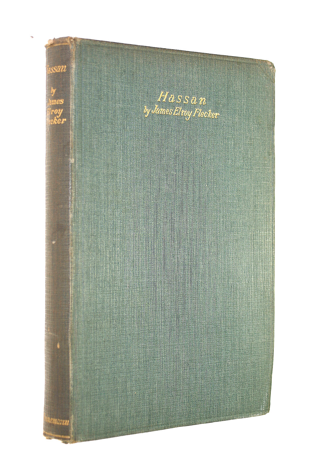 Image for Hassan The Story Of Hassan Of Bagdad And How He Came To Make The Golden Journey To Samarkand