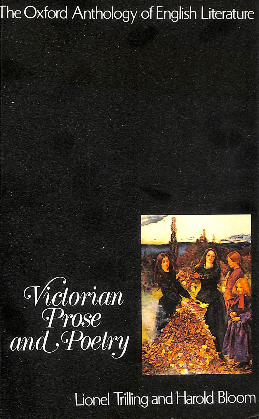 Image for Victorian Prose And Poetry (Oxford Anthology Of English Literature)