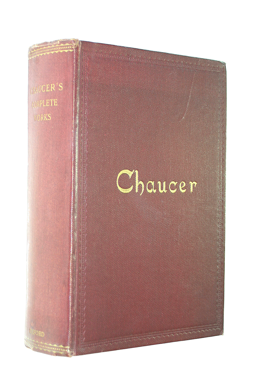 Image for The Complete Works Of Geoffrey Chaucer