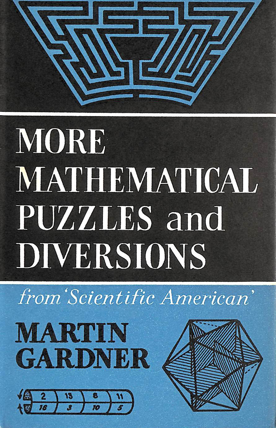 Image for More Mathematical Puzzles And Diversions: From 'scientific American