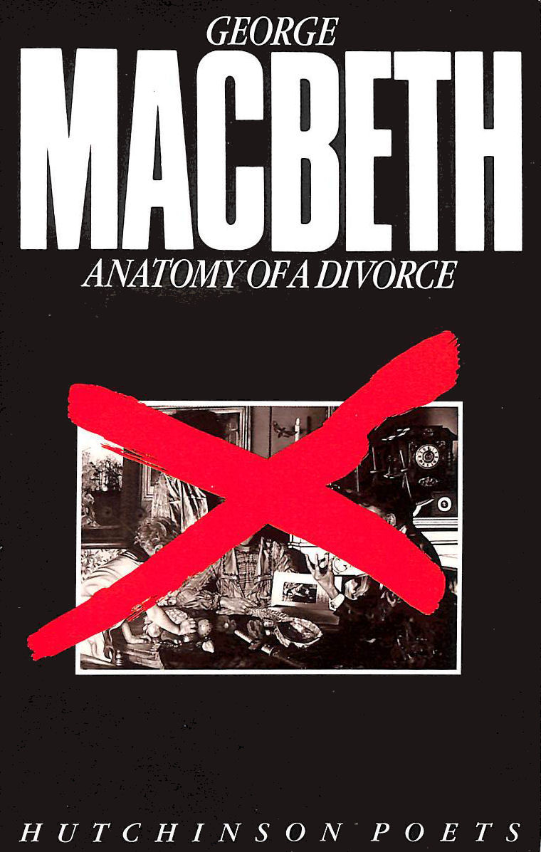 Image for Anatomy Of A Divorce (Hutchinson Poets)
