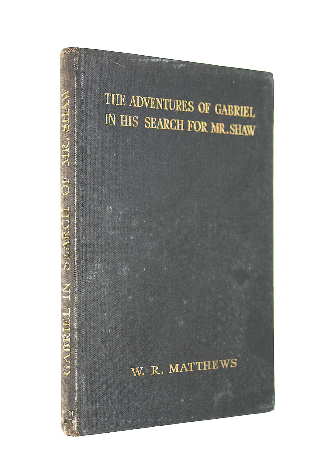 Image for The Adventures Of Gabriel In His Search For Mr. Shaw: A Modest Companion For Mr. Shaw's Black Girl.