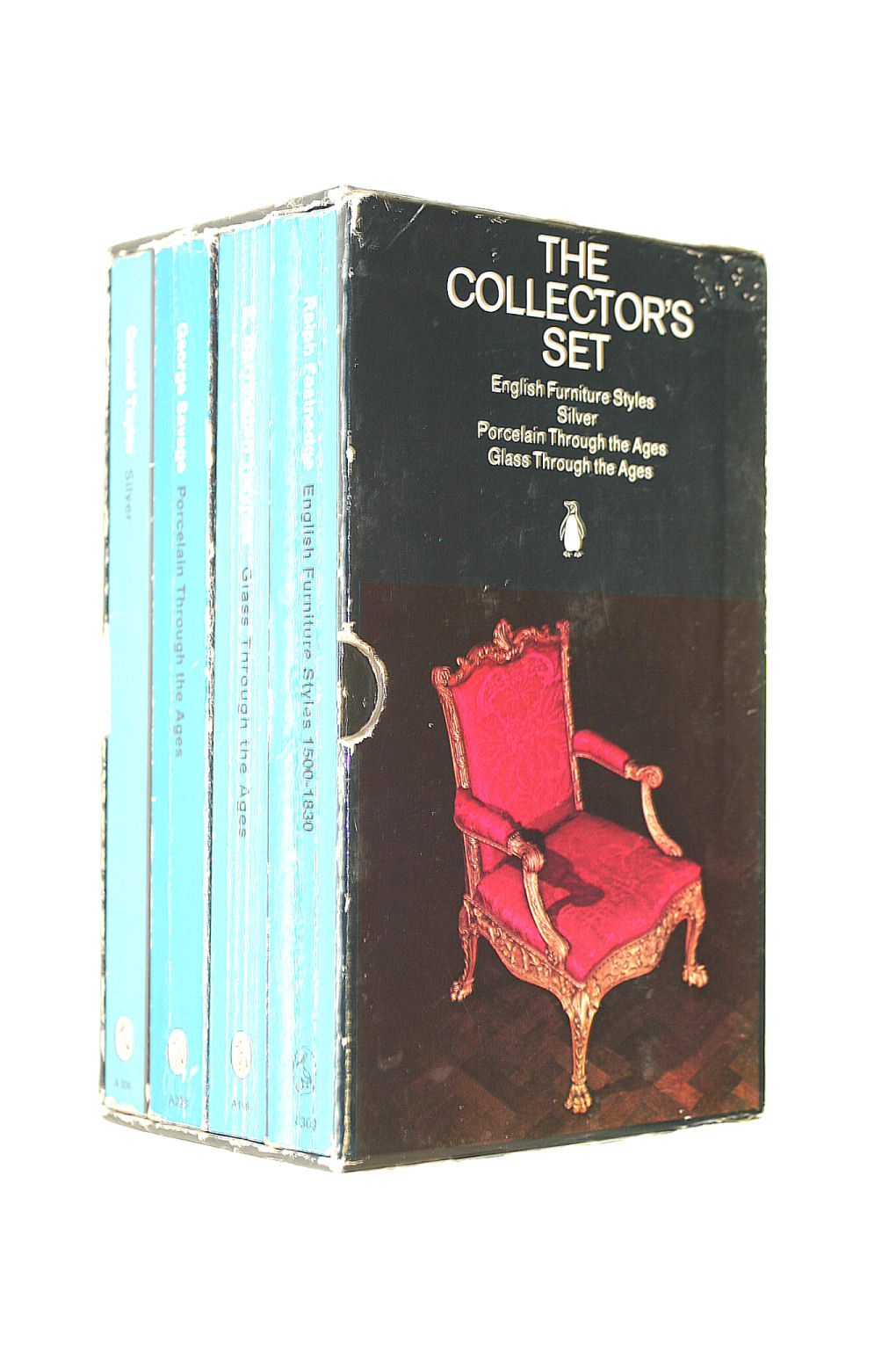 Image for The Collector's Set: English Furniture Styles/Silver/Porcelain Through The Ages/Glass Through The Ages