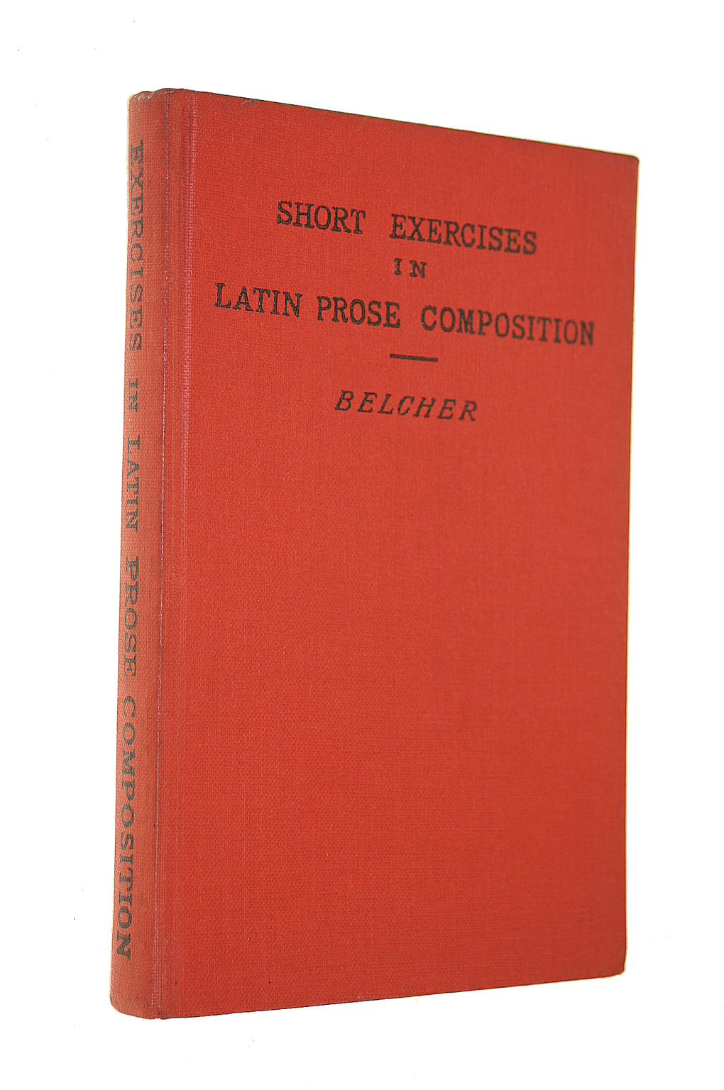 Image for A Key To Short Exercises In Latin Prose Composition