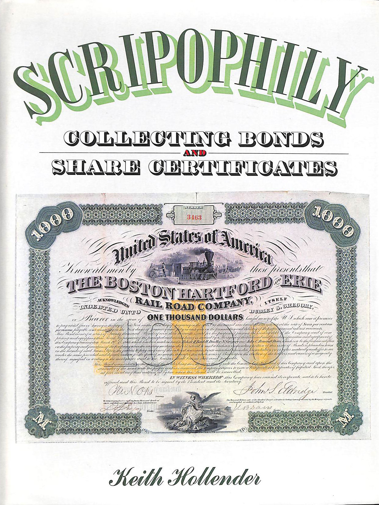 Image for Scripophily: Collecting Bond And Share Certificates