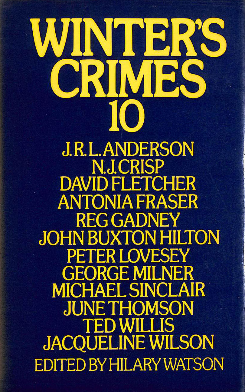 Image for Winter's Crimes 10 Watson H