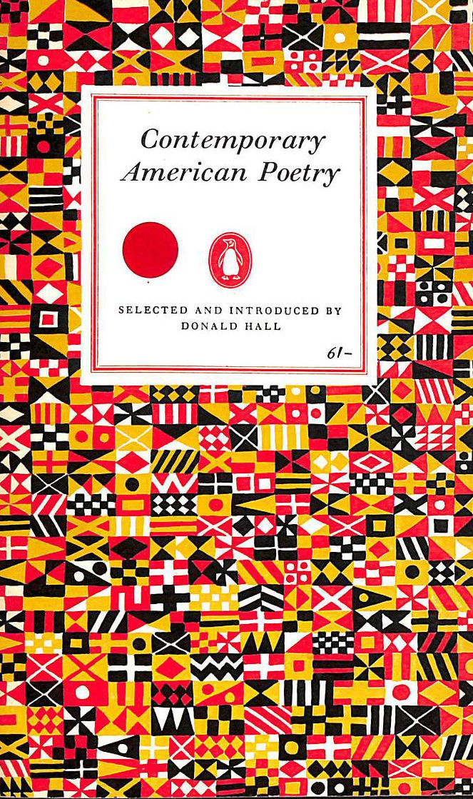 Image for Contemporary American Poetry