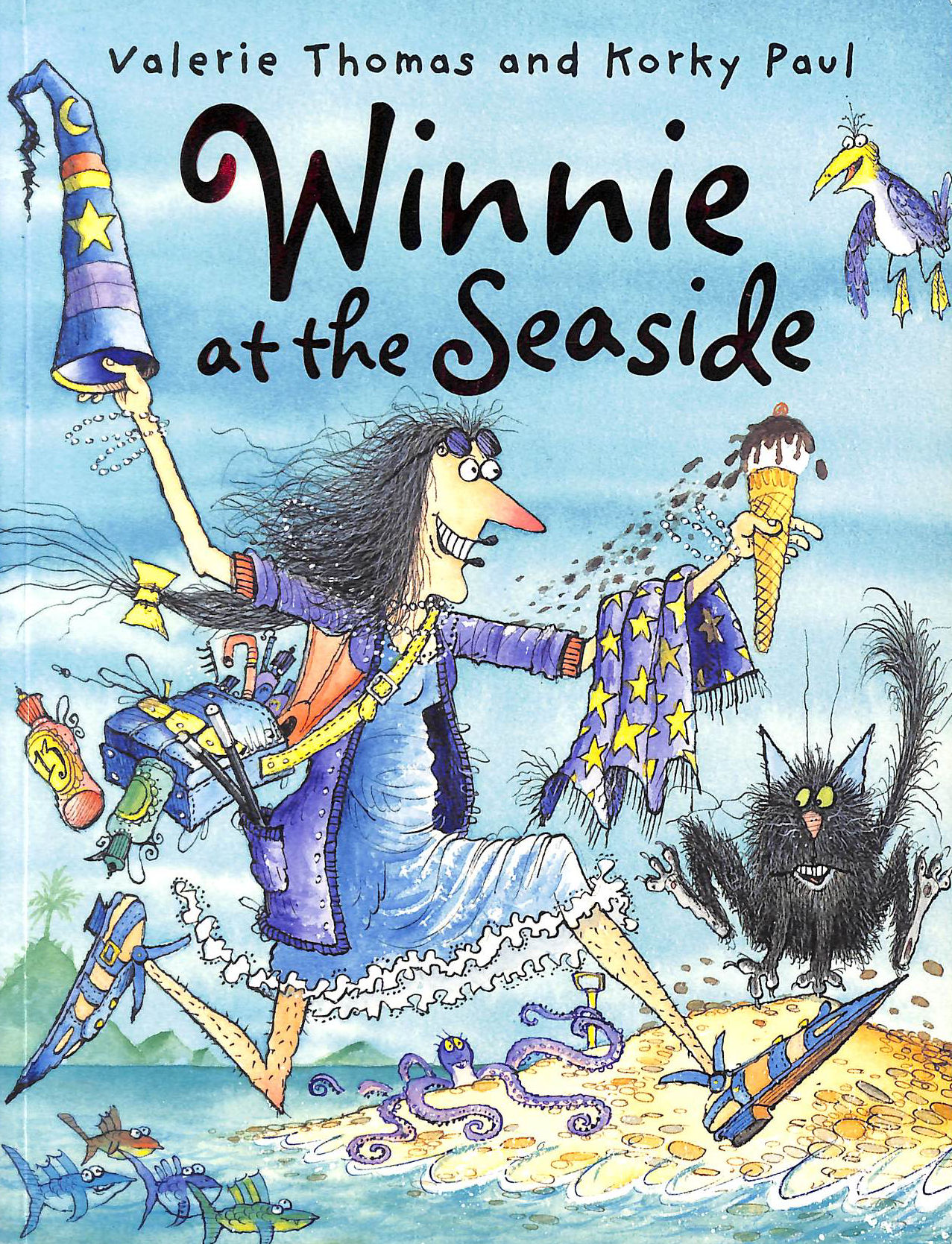 Image for Winnie at the Seaside (Winnie the Witch)