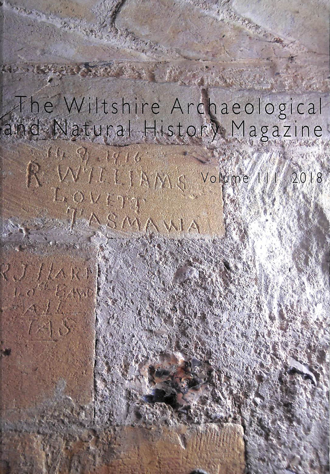 Image for Wiltshire Archaeological and natural History Magazine Volume 111 2018