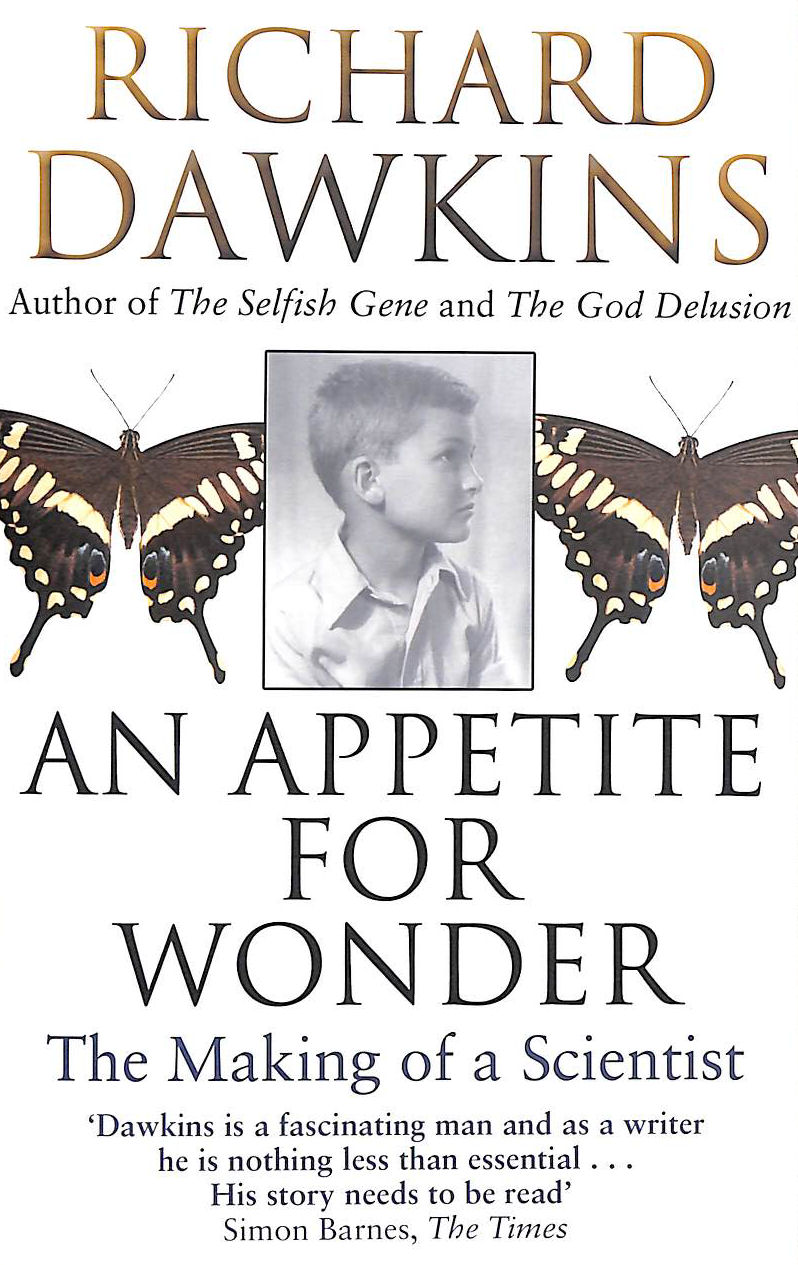 Image for An Appetite For Wonder: The Making Of A Scientist