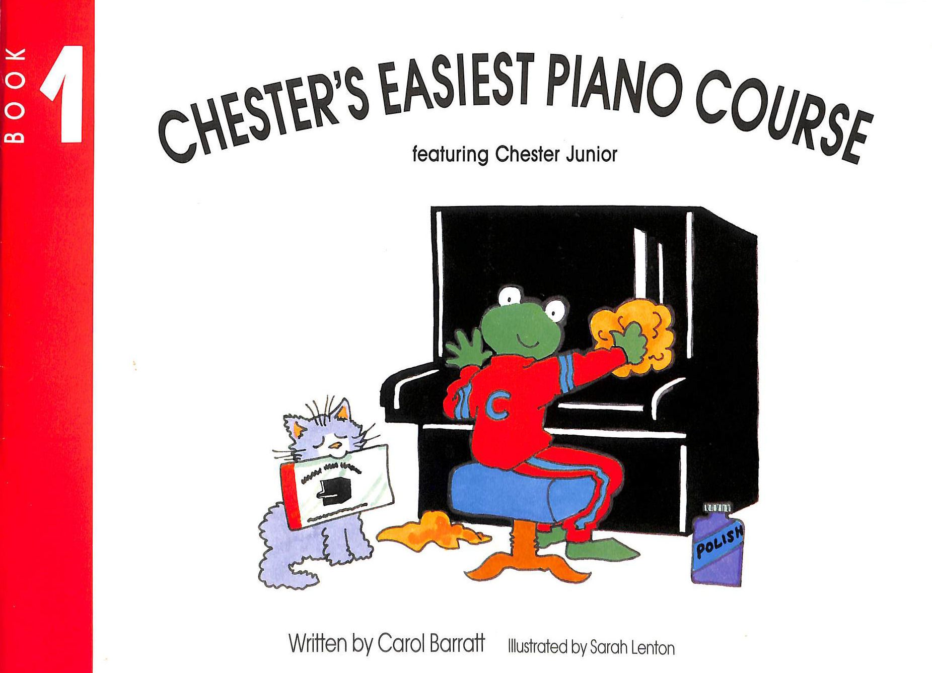 Image for Chesters Easiest Piano Course Book 1: Bk.1
