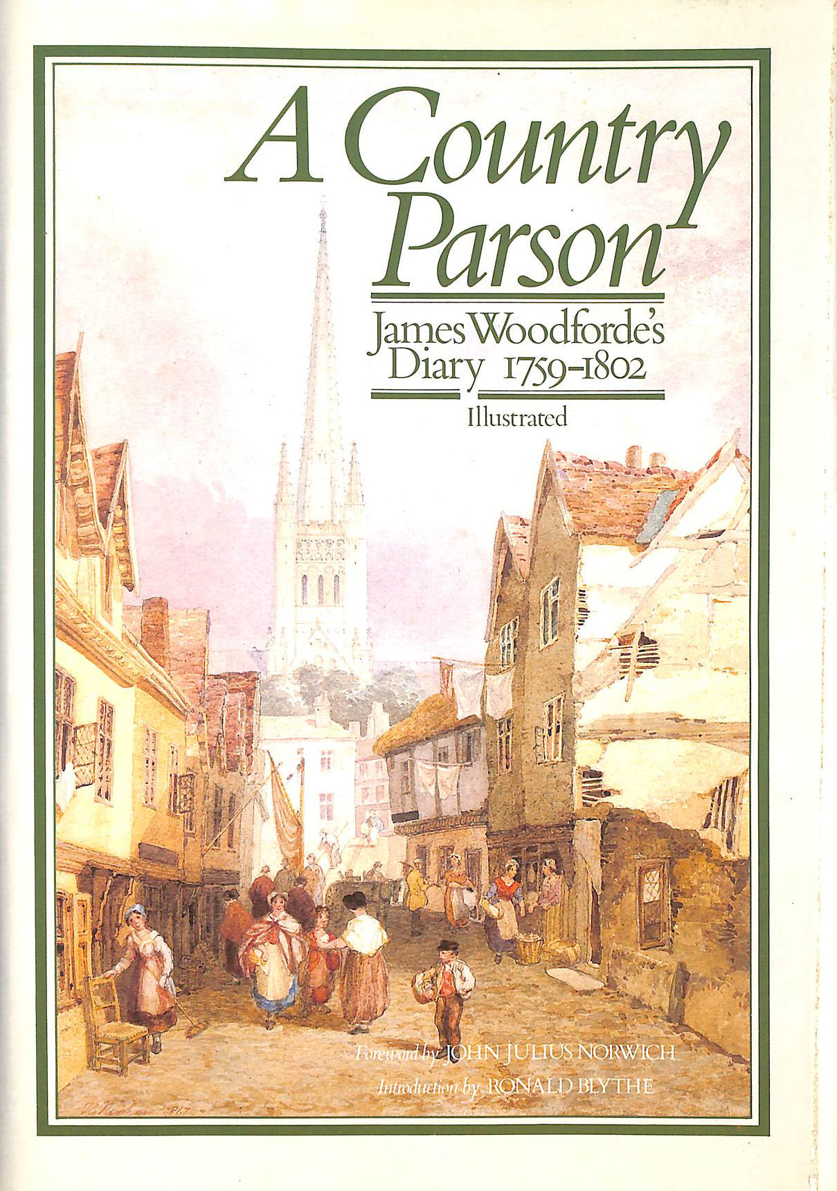 Image for A Country Parson: James Woodforde's Diary 1759-1802 By James Woodforde (1985-09-05)