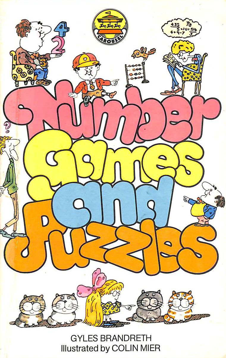 Image for Number Games And Puzzles (Carousel Books)