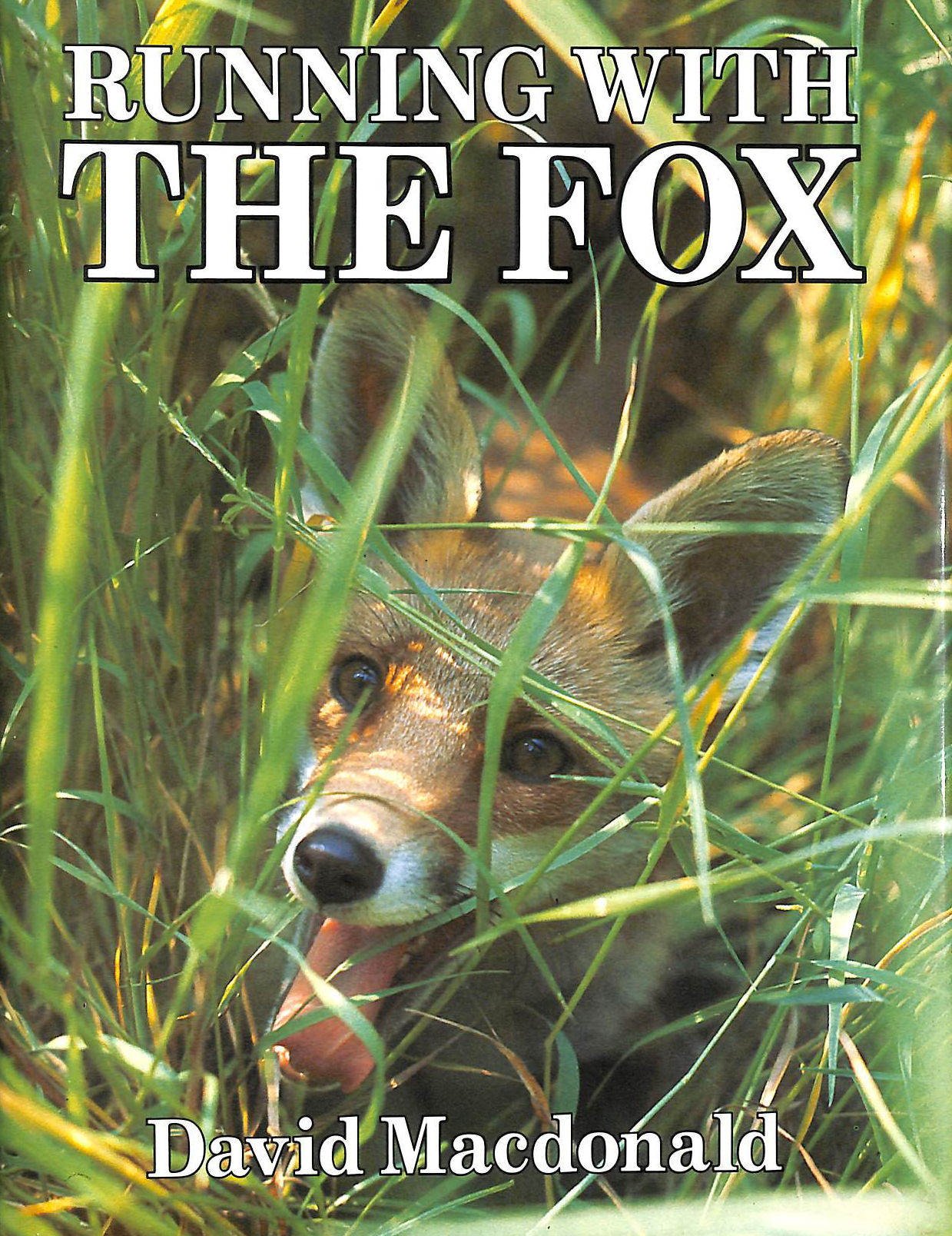 Image for Running With The Fox By David Macdonald (1988-07-30)