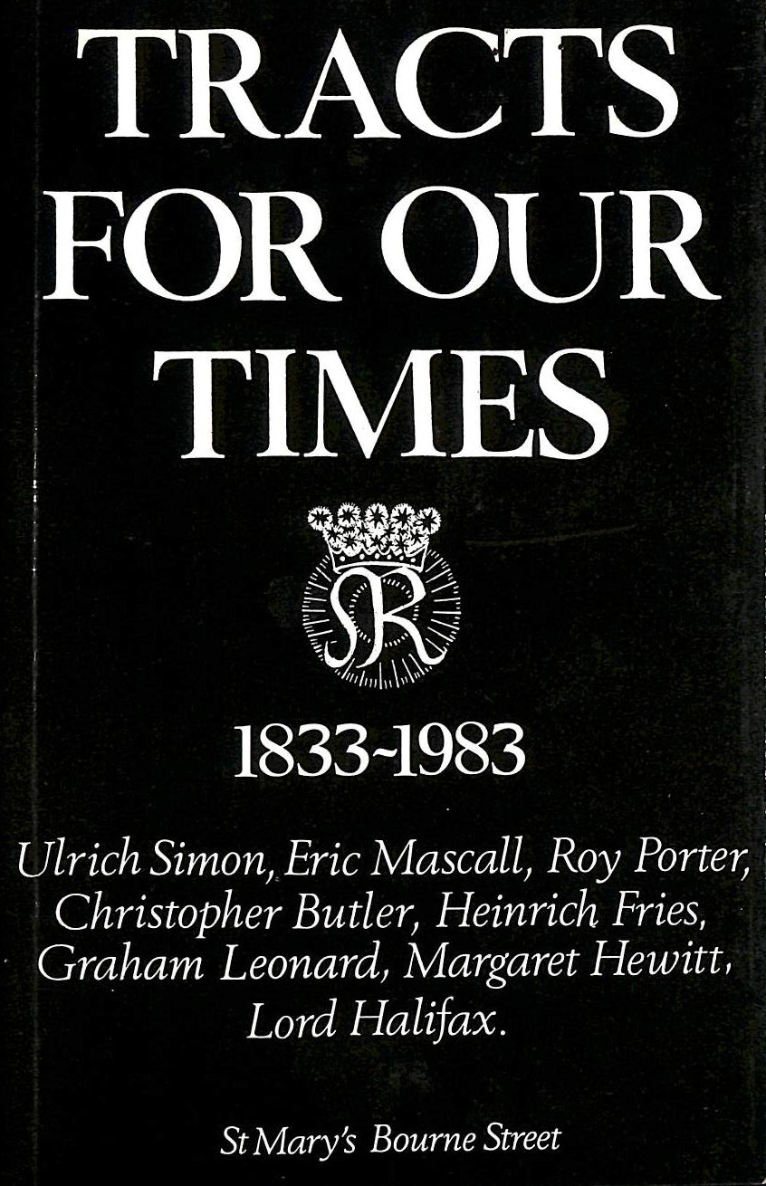 Image for Tracts For Our Times, 1833-1933