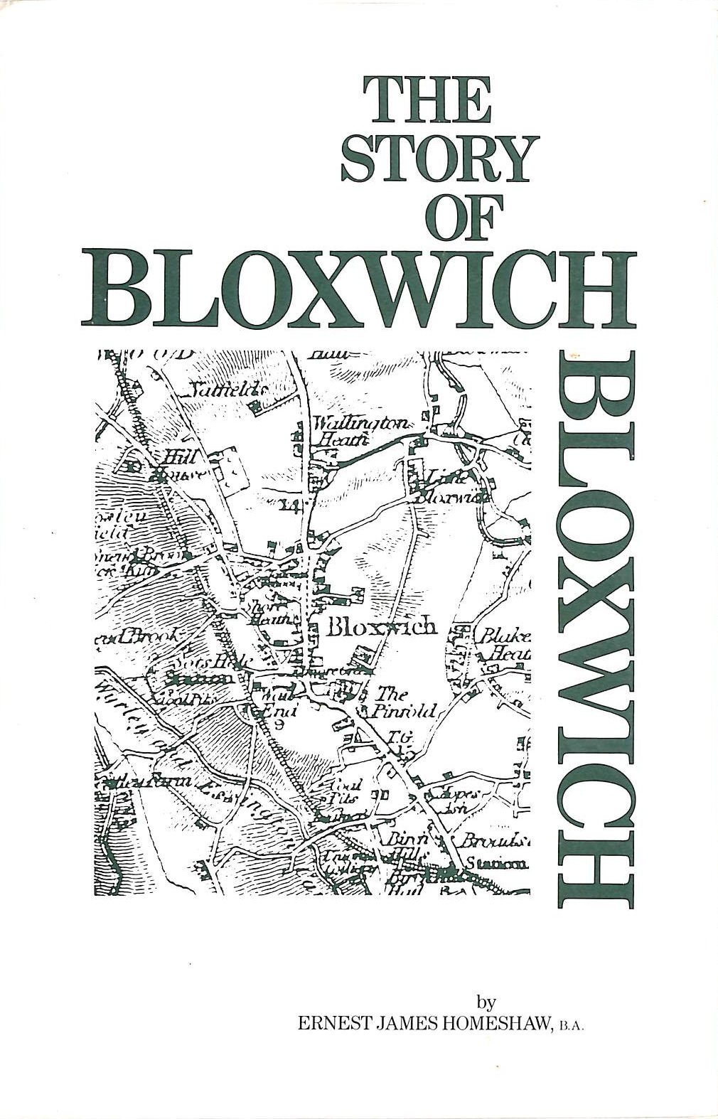Image for 1988 Reprint Of The Story Of Bloxwich