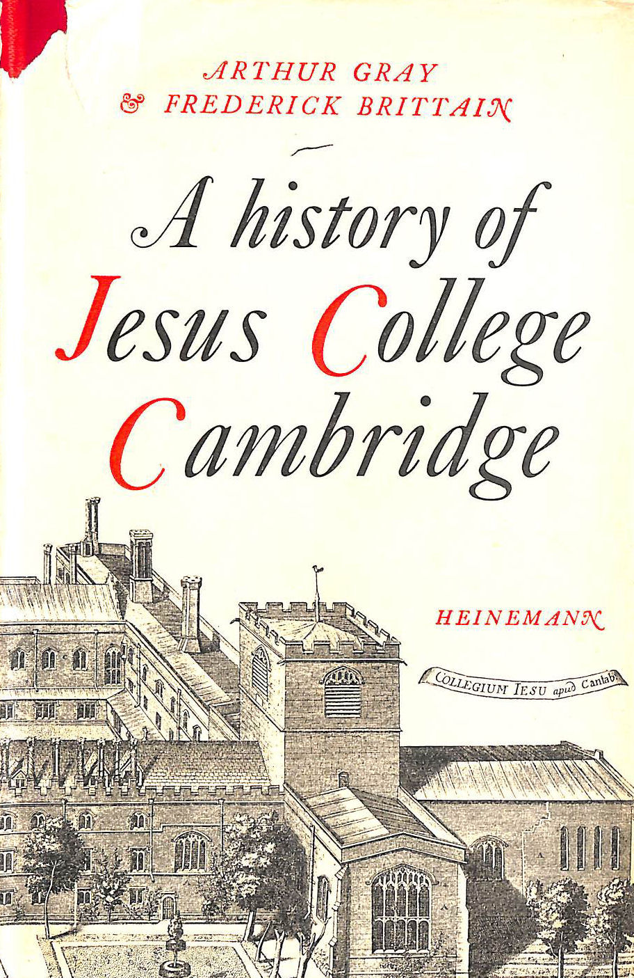 Image for A History Of Jesus College, Cambridge